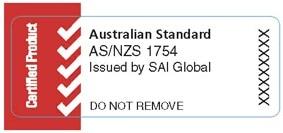 australian standard as1754