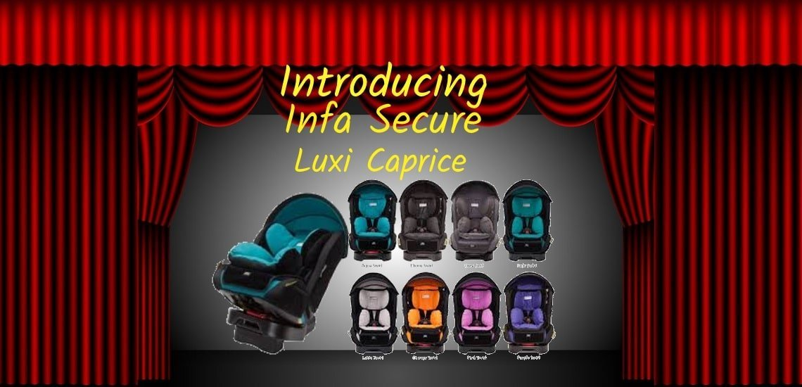Luxi Caprice all in one birth to 8 years of age