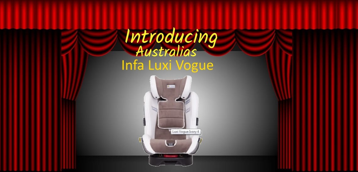 luxi Vogue all in one car seat