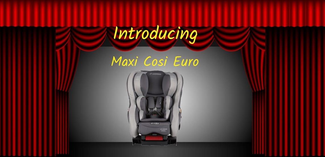 maxi cosi euro-nxt isofix seat