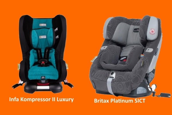 entended rear facing Carseats