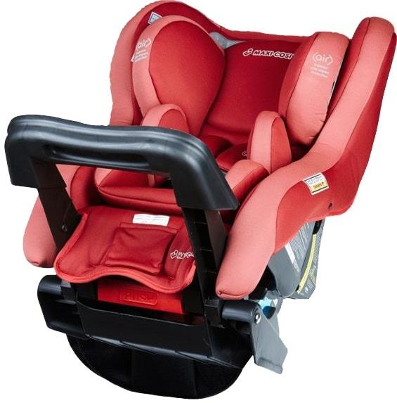 Maxicosi Euro Rear Facing Red Baby Capsule And Car Seat