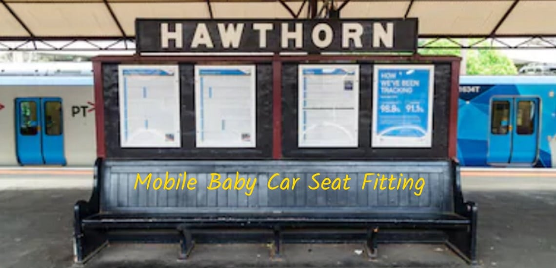 hawthorn mobile car-seat fitting