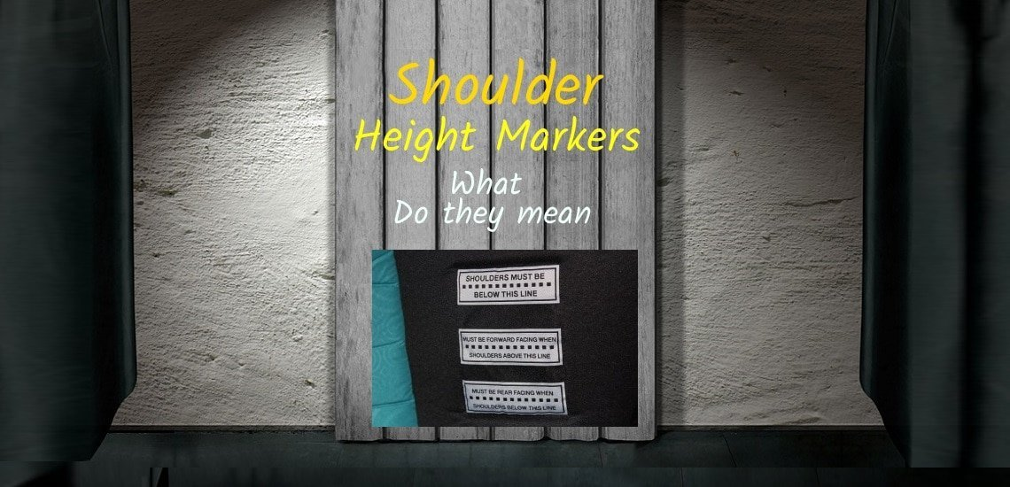 Shoulder height-markers