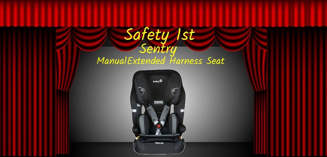 Safety 1st sentry-extended harnessing seat
