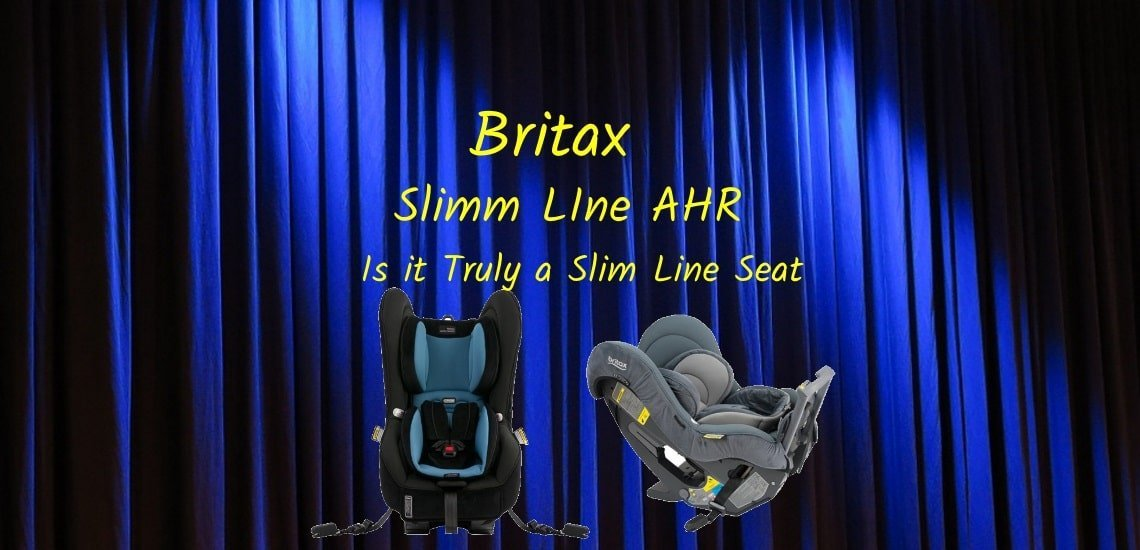 britax slim-line car seat