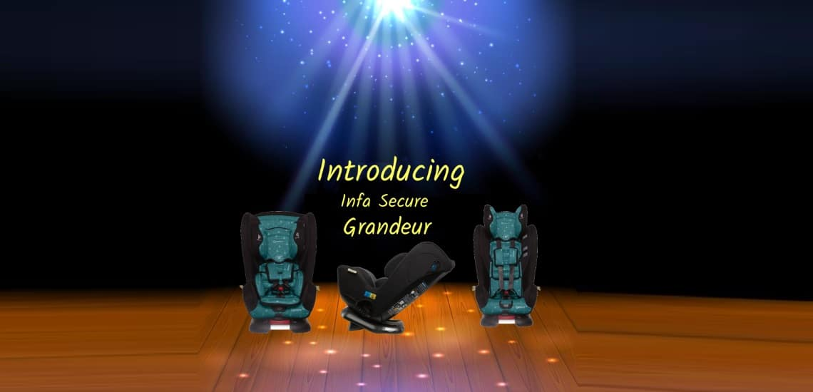 Infa-secure grandeur Safest Car seat
