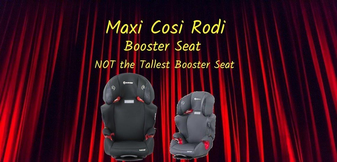 maxi cosi rodi booster seat