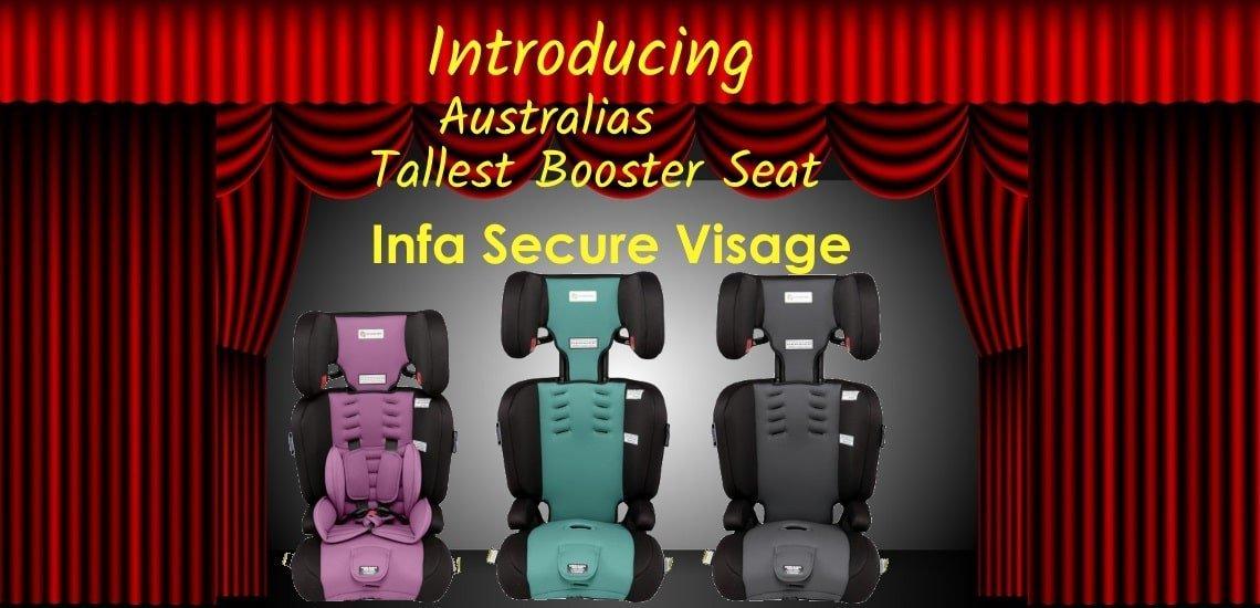 tallest booster seat infa Visgae