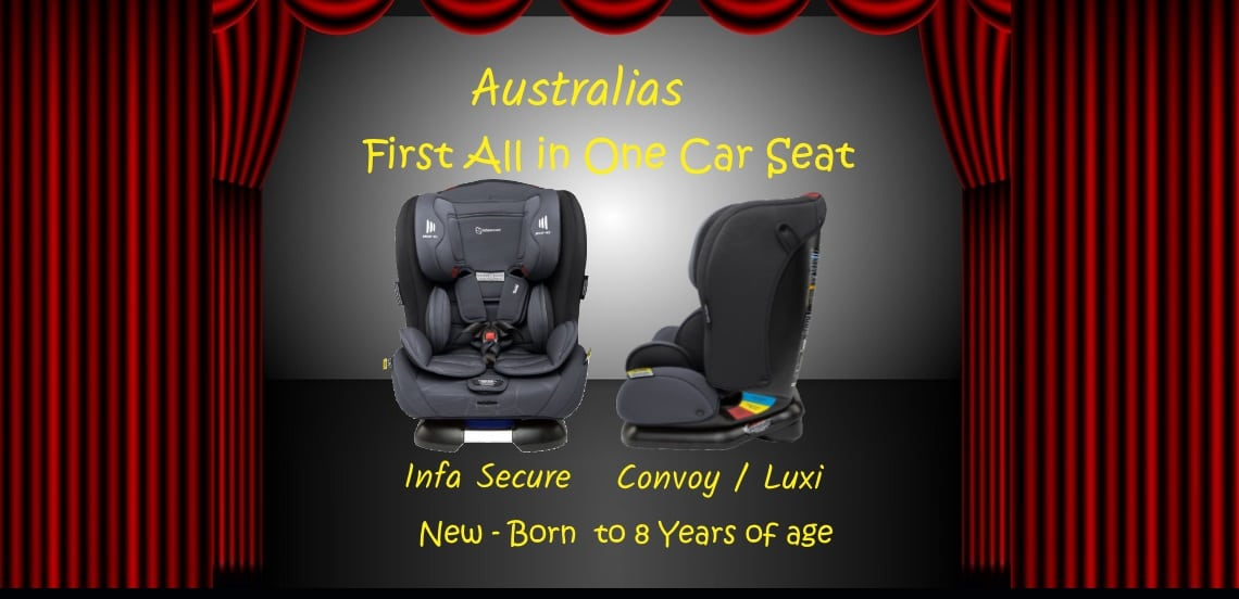 Infa Secure Convoy all in one carseat