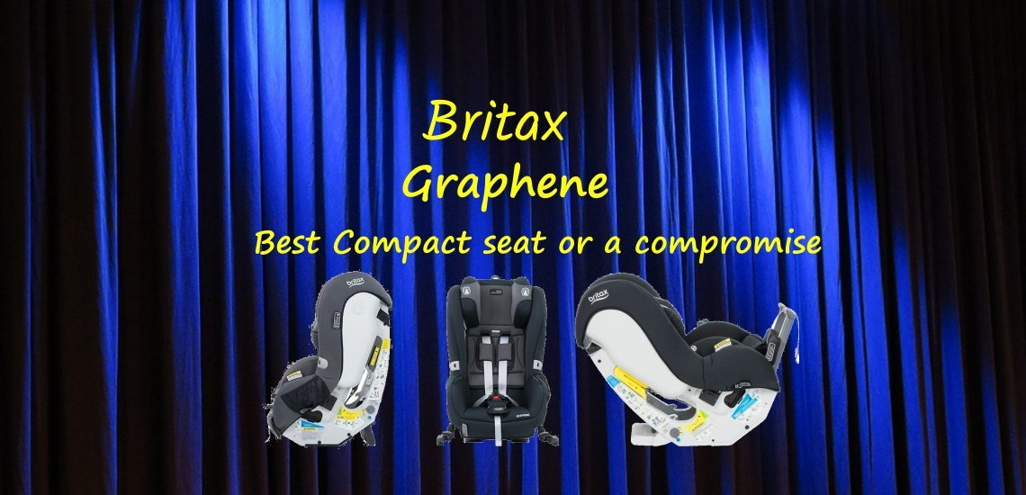 britax graphene compact baby car seat